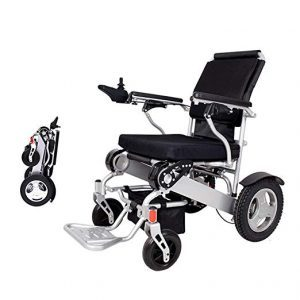 Folding Electric Powered Wheelchair