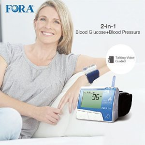 Fora D10 2-in-1 Blood Glucose and Blood Pressure Monitor