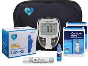 O'Well Contour Next Ez Blood Glucose Monitoring Kit
