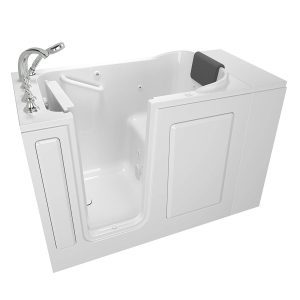 American Standard 28x48 Left Hand Premium Series Walk in Whirlpool in White