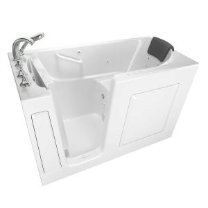 American Standard 30x60 Left Hand Premium Series Walk in Combo Whirlpool and Air Spa in White