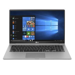 LG gram Laptop - 15.6 Full HD Display, Intel 8th Gen Core I5, 8GB RAM, 256GB SSD, 21.5 HRs Battery - 15Z990-U.AAS5U1 (2019), Dark Silver