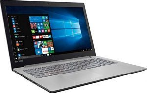 Lenovo Ideapad 15.6 HD High-Performance Laptop, AMD A12-9720P Quad-core processor 2.7GHz, 8GB DDR4, 1TB HDD, DVD, Webcam, WiFi, Bluetooth, Windows 10, Platinum gray