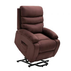 Homegear Microfiber Power Lift Electric Recliner Chair