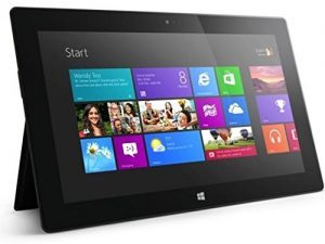 Microsoft Surface, Black