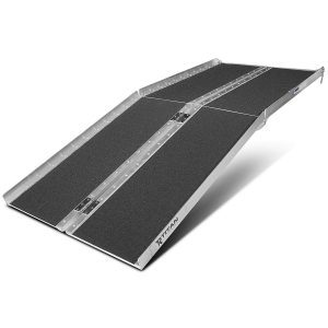 Titan Ramps 6 Ft Aluminum Multifold Wheelchair Scooter Mobility Ramp Portable 72 (MF6)