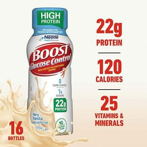 Boost Nutritional Drinks Glucose Control Vanilla