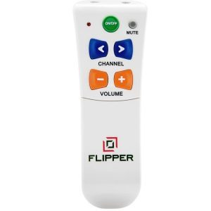 Flipper Big Button TV Remote for Elderly