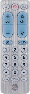 GE Big Button Universal Remote Control
